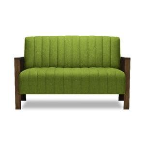 Zelená dvojmiestna pohovka Miljä Alti