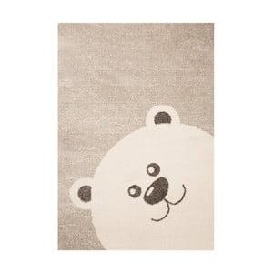 Detský hnedý koberec Zala Living Bear, 120×170cm