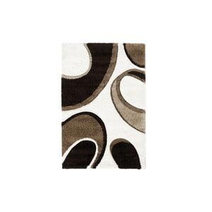 Hnedo-béžový koberec Think Rugs Fashion, 120x170cm