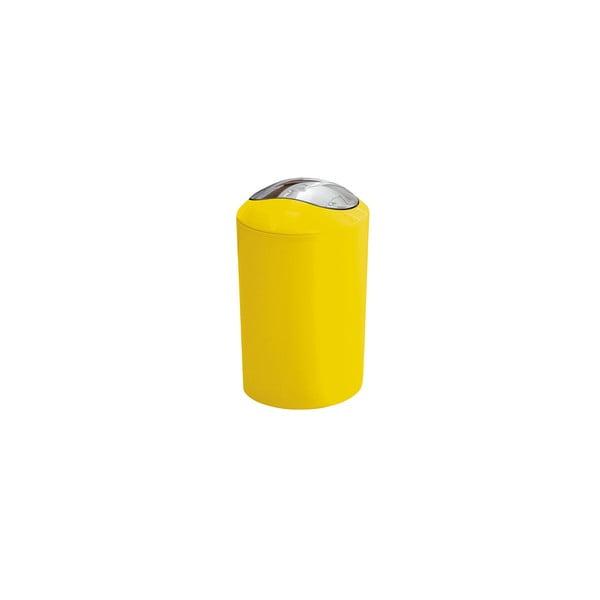 Odpadkový kôš Glossy Yellow, 3 l