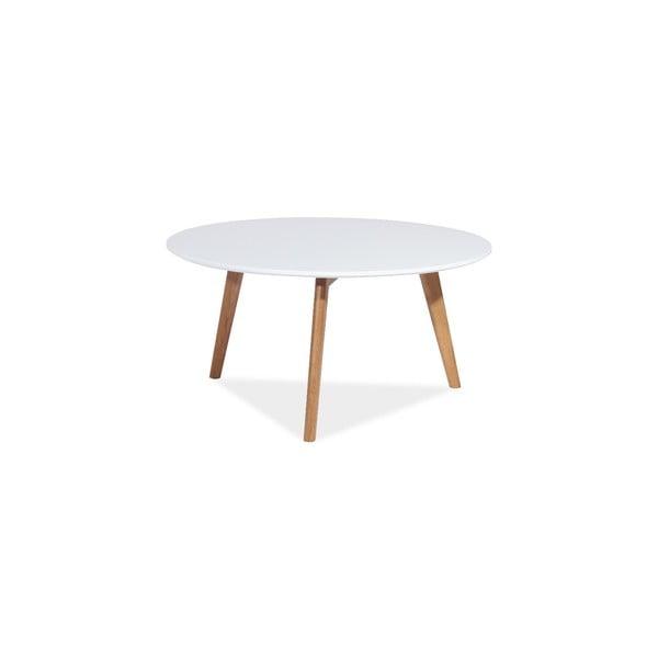 Konferenčný stolík Milan 80x45 cm, biely