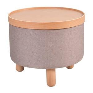 Hnedá stolička Garageeight Molde s odnímateľným vrchom, veľkosť L