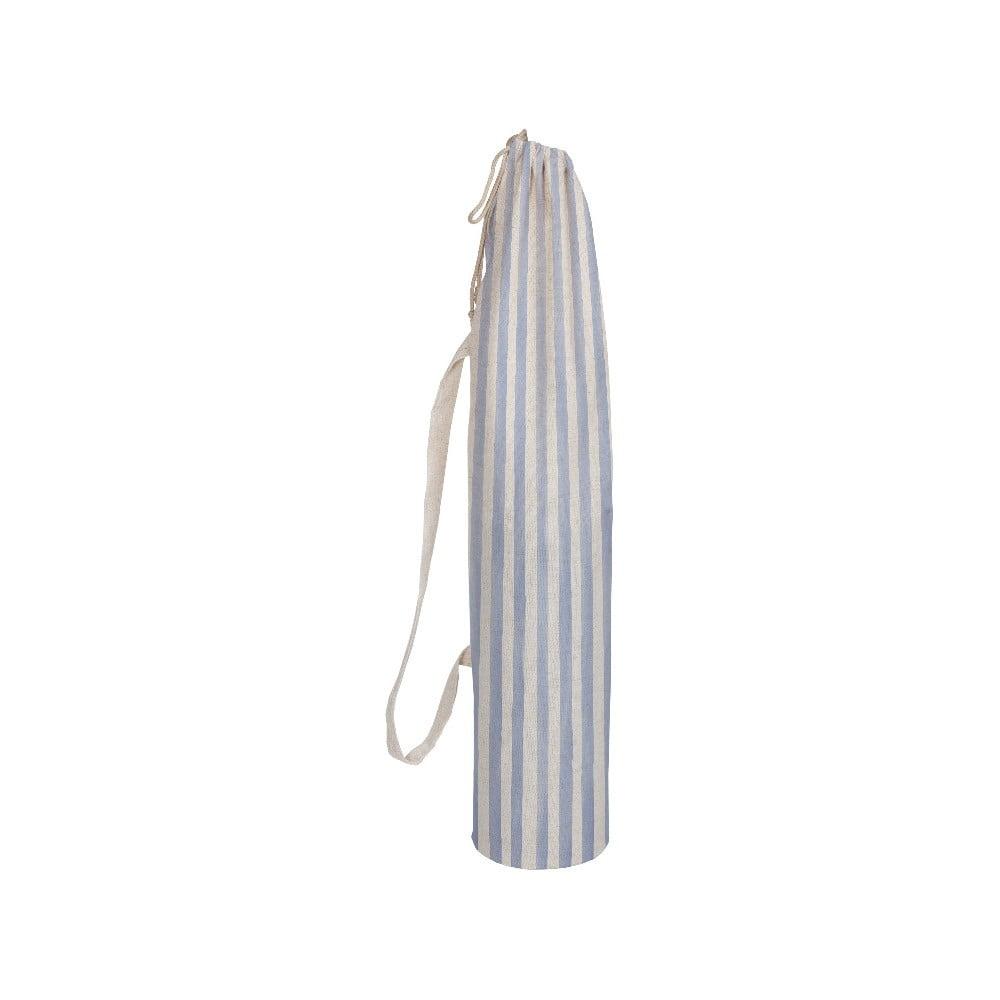 Látkový obal na jogamatku Linen Couture Blue Lines, výška 80 cm