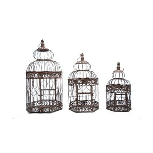 Sada 3 klietok Antic Line Bird Cage