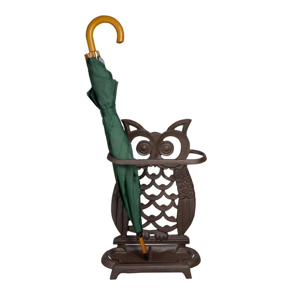 Liatinový stojan na dáždniky Esschert Design Owl