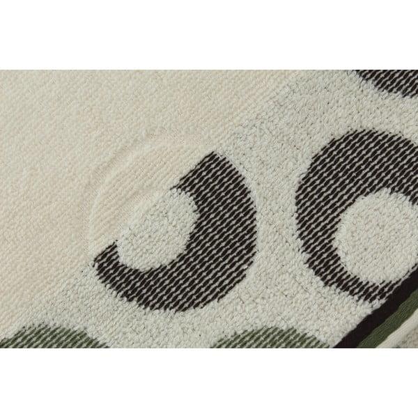 Sada 2 uterákov Arion Cream, Green, 50x90 cm