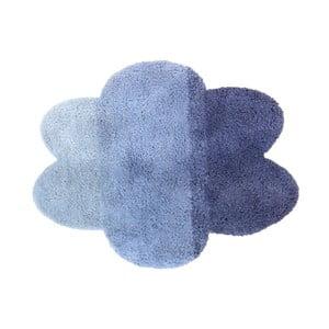 Modrý detský koberec v tvare obláčika Art For Kids, 100 x 130 cm