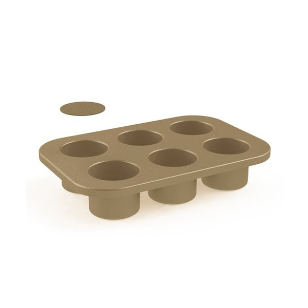 Forma na 6 muffinov Paul Hollywood. priemer 6 cm