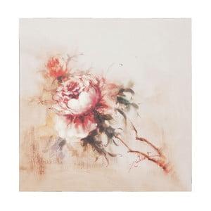Obraz s kvetinou Clayre, 80x80 cm