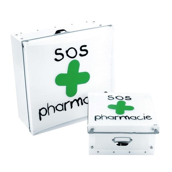 Úložný box na lieky Incidence SOS Pharmacie Big