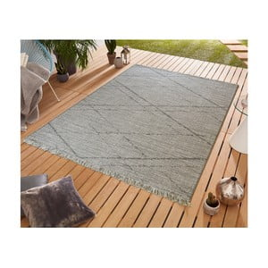 Sivý koberec vhodný aj do exteriéru Floorita Les Gipsy Grey, 194 × 290 cm