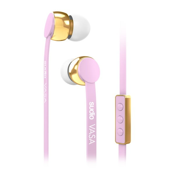 Ružové slúchadlá Sudio VASA pro iOS