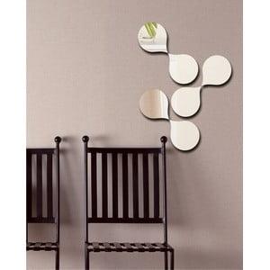 Dekoratívne zrkadlo Molekuly