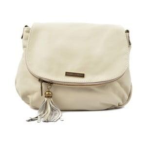 Béžová kožená kabelka Isabella Rhea Margona
