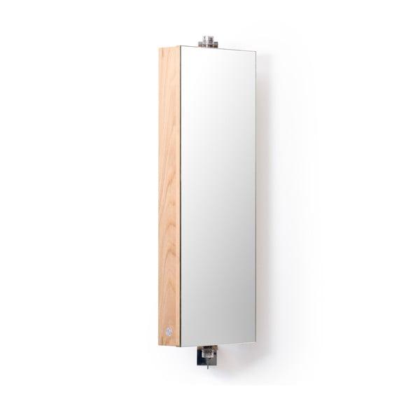 Otočné zrkadlo s úložným priestorom Wireworks Mezza, výška 71cm