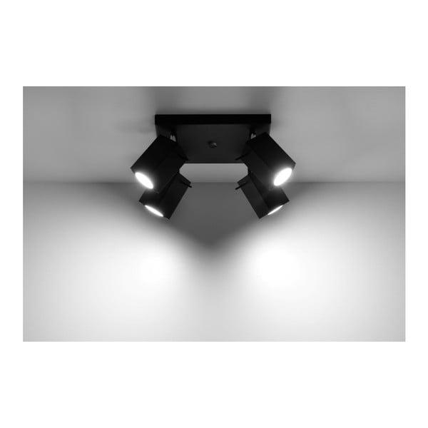 Čierne stropné svetlo Nice Lamps Toscana 4
