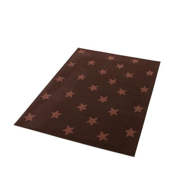 Detský hnedý koberec Hanse Home Stars, 140×200cm
