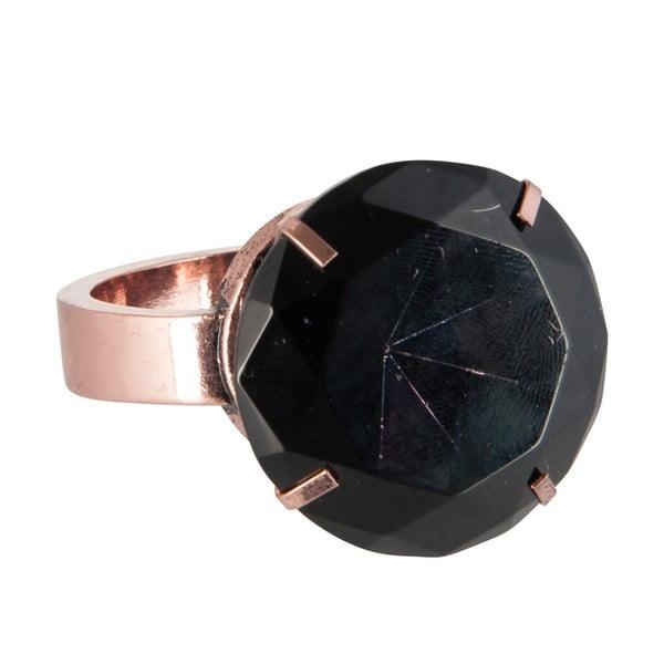Ozdobný prsteň na obrúsky Black Ring