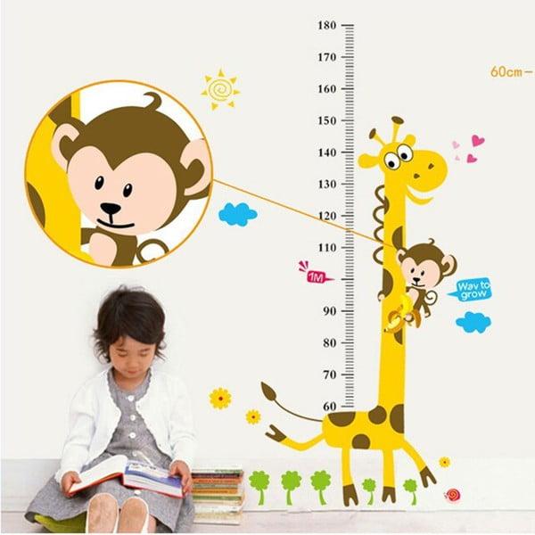 Dekoratívna samolepka Giraffe