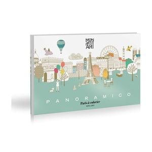 Panoramatická skladačka Mon Petit Art Panoramico Paris