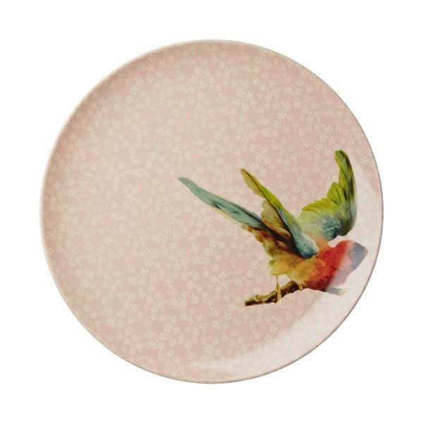 Dezertný tanier Flower Bird