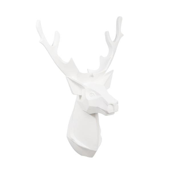 Závesná dekorácia Reindeer, biela