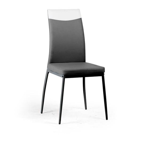 Jedálenská stolička Jet, sivá