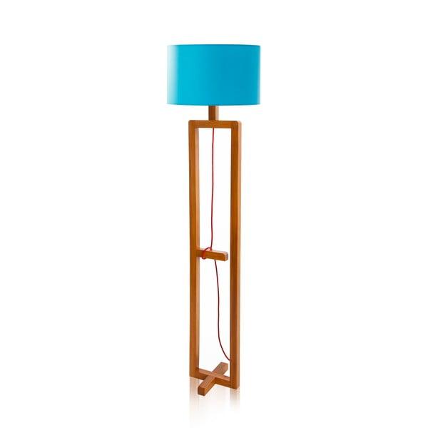 Stojacia lampa Dal Blue Walnut