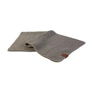 Pletený koberec Catness, béžový, 50x100 cm