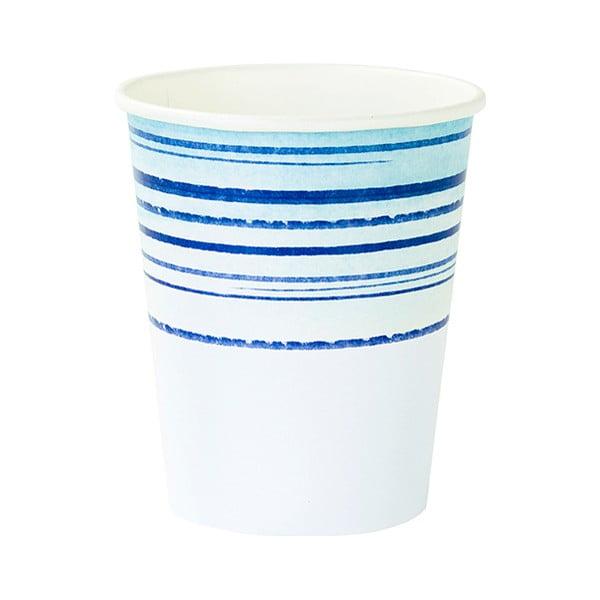 Sada 12 papierových pohárikov Talking Tables Coast