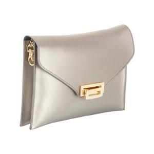 Sivá kabelka z pravej kože Andrea Cardone Shine