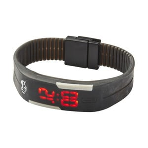Čierne LED hodinky TINC Glow