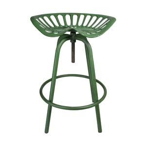 Zelená stolička s traktorovým sedadlom Esschert Design