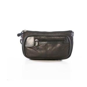 Čierna kožená kabelka Gianni Conti Agacia