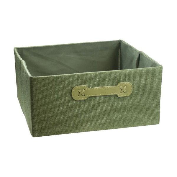 Úložný box Halfcube Green, 32x32 cm
