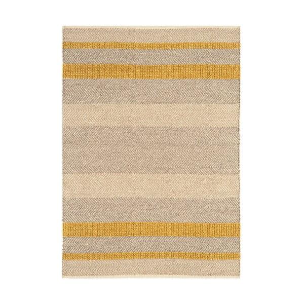 Koberec Fields Mustard, 120x170 cm