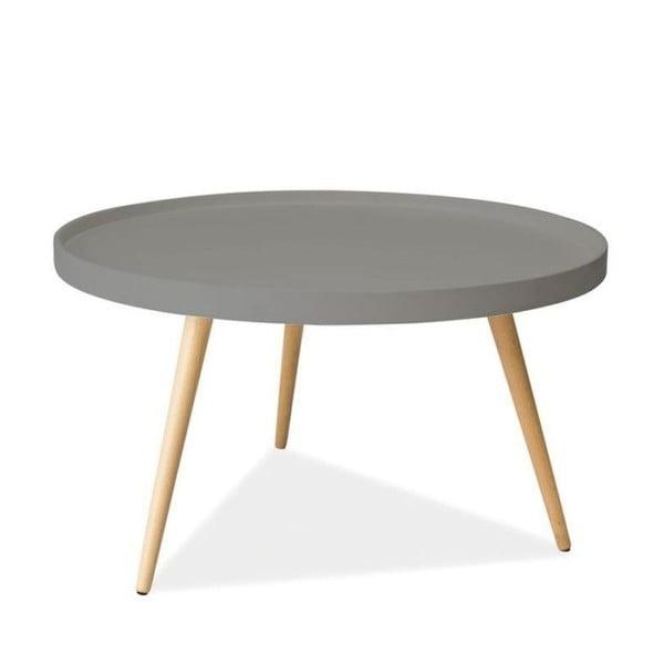 Konferenčný stolík Toni 78 cm, sivý