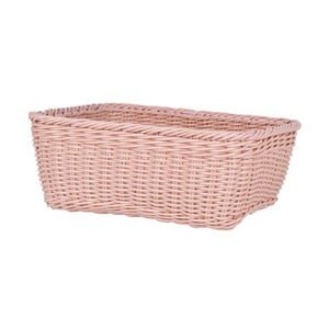 Odkladací košík Nature, lososovo ružový