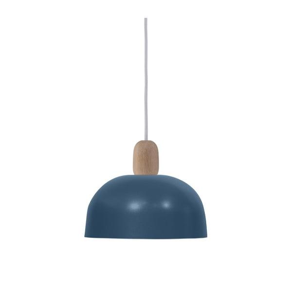 Modré závesné svietidlo HARTÔ Nina