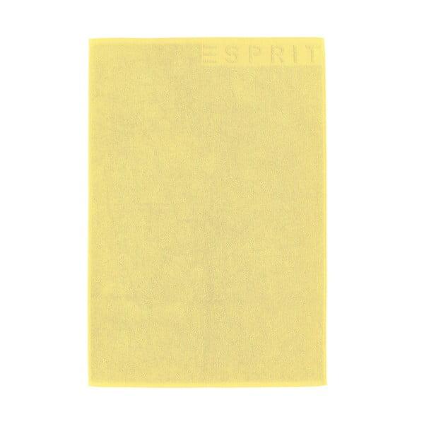 Kúpeľňová predložka Esprit Solid 60x90 cm, žltá