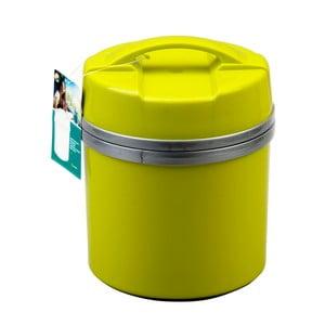 Zelená dóza na potraviny s lyžičkou Utilinox, 1,4 l