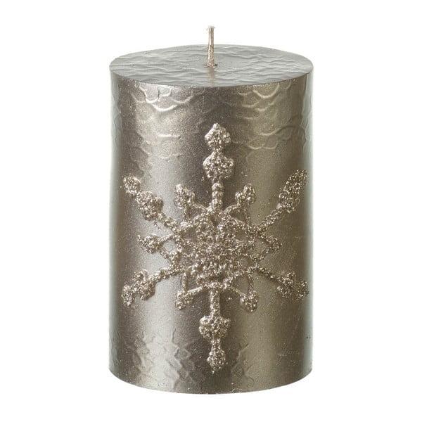 Zlatá sviečka Parlane Pillar, výška 10,5 cm