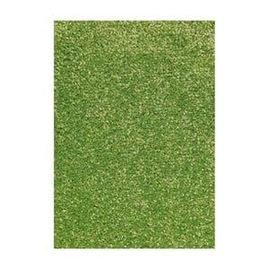 Zelený koberec Hanse Home Nasty, 67 × 120 cm