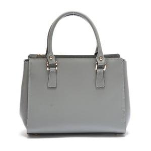 Sivá kožená kabelka Mangotti Rudbekia