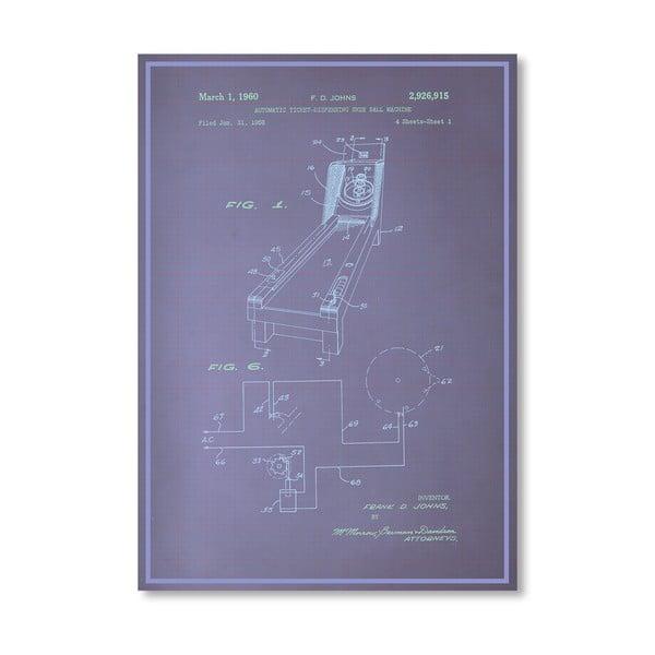 Plagát Skee Ball, 30x42 cm