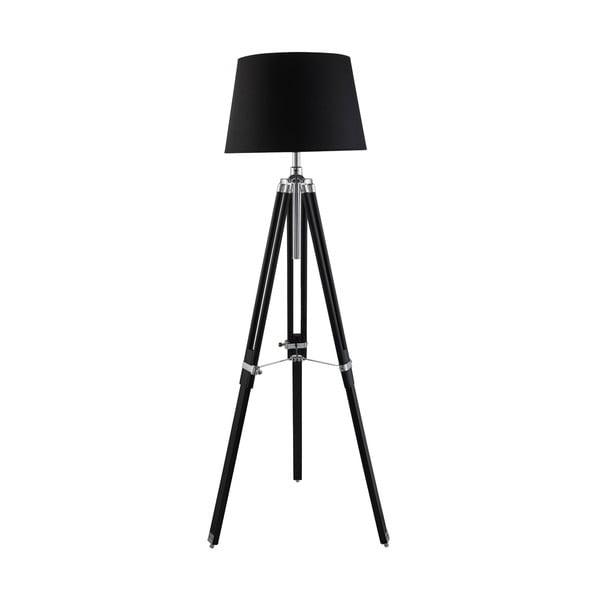 Stojacia lampa Tripod, chróm