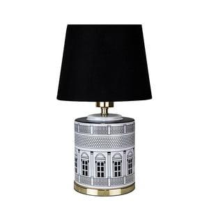 Čierna stolová lampa Globen Lighting Florence