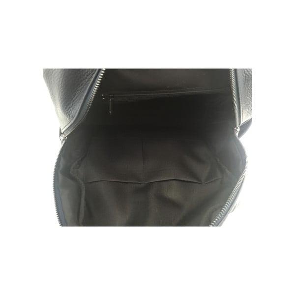 Kožený batoh Momo Anthracite