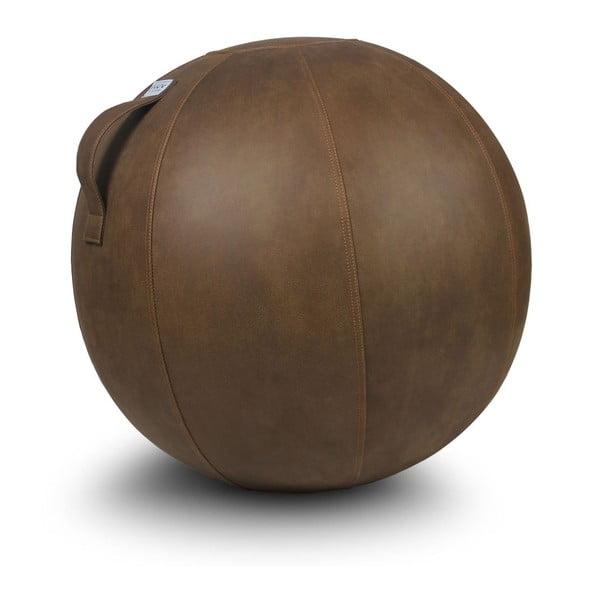 Hnedá lopta na sedenie VLUV, 75cm
