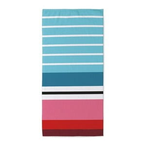Uterák Remember Stripes Blue,50x100cm